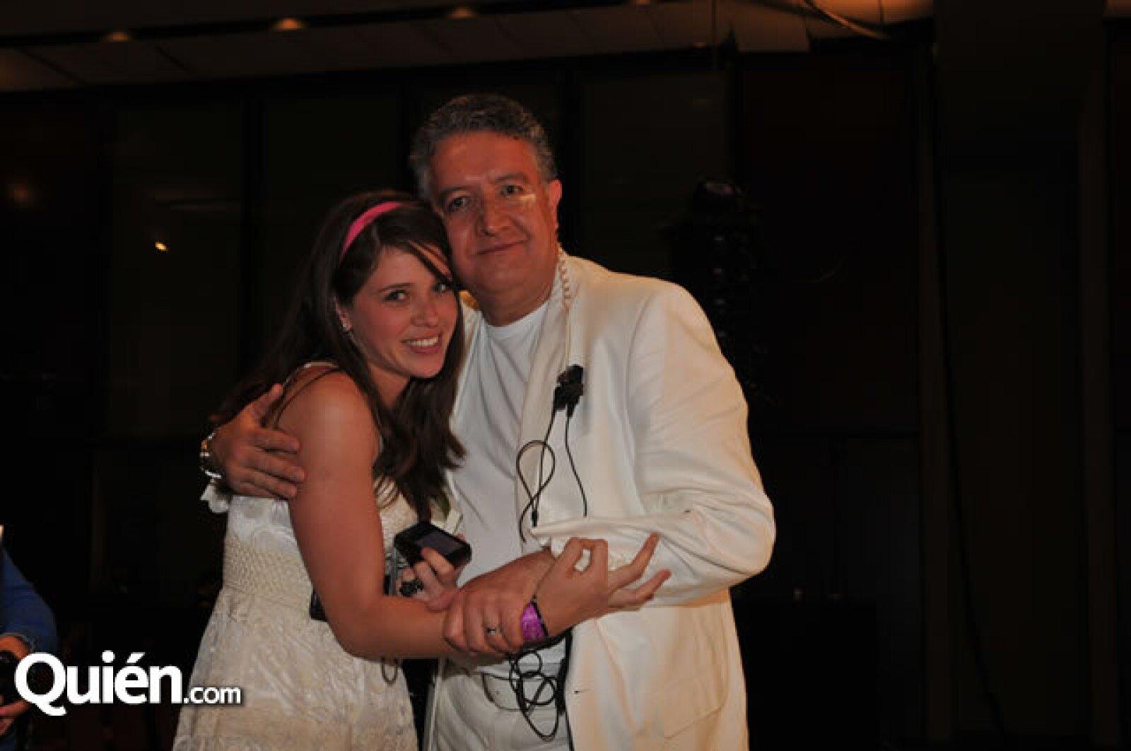 Verónica Gutiérrez y Miguel Ángel Solorio