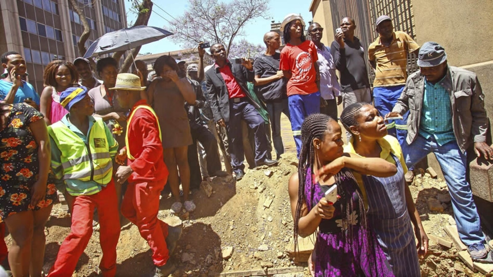 Gente tribunal Pretoria Oscar Pistorius