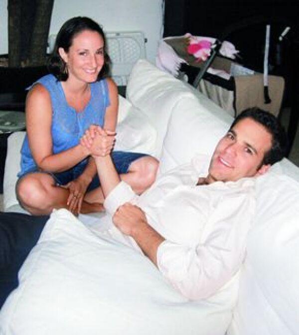 Ofelia y Carlos en México en 2006.
