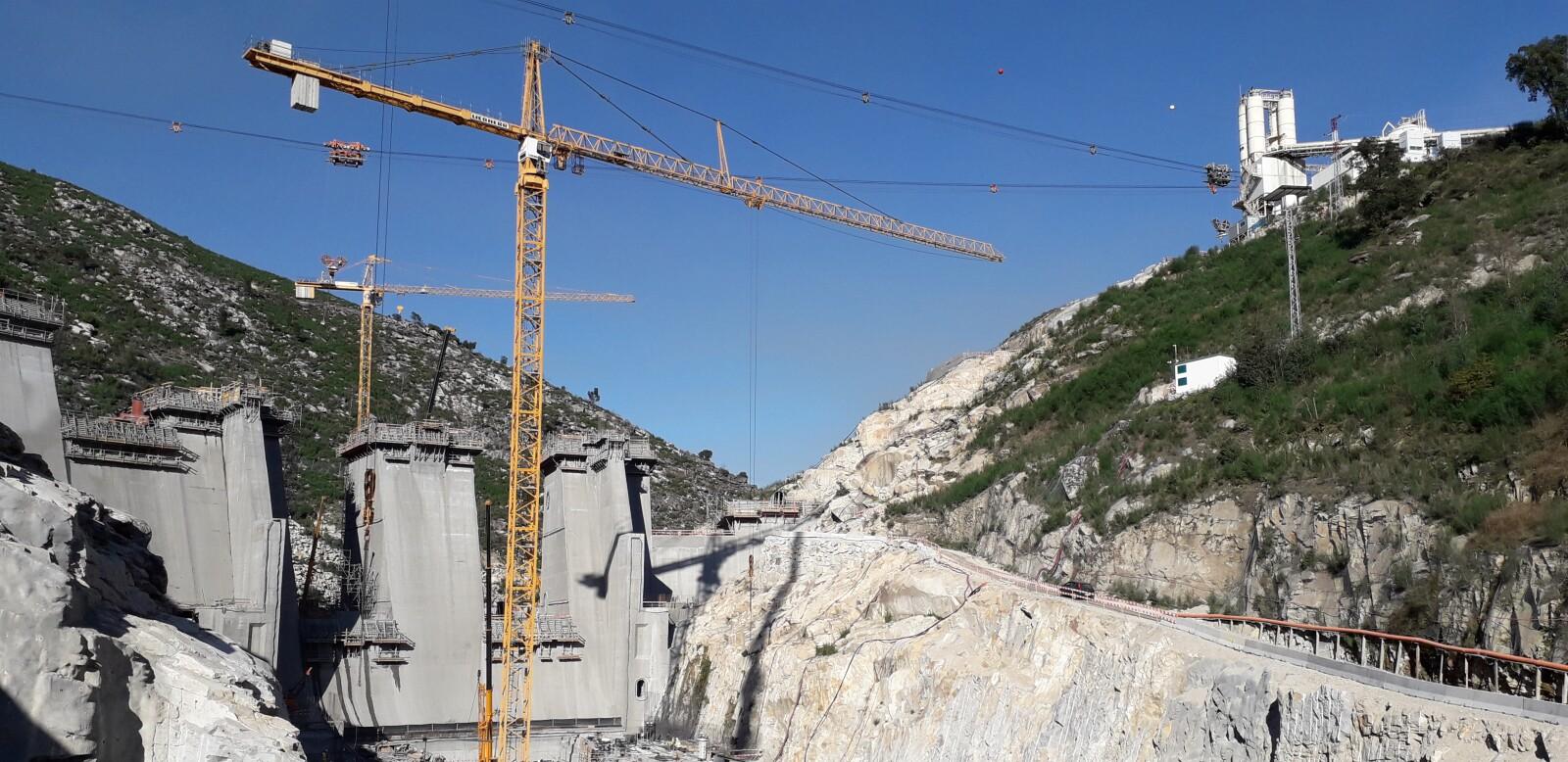 Planta Hidroeléctrica Támega, en Portugal