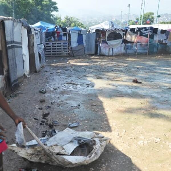 Haití registra daños por Sandy