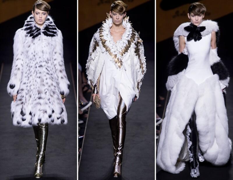 El marco de la semana de Haute Couture de otoño-invierno 2015 coincidió con el nonagésimo aniversario de la firma conocida como `Fun Fur´y el 50 aniversario de Karl Lagerfeld como diseñador.