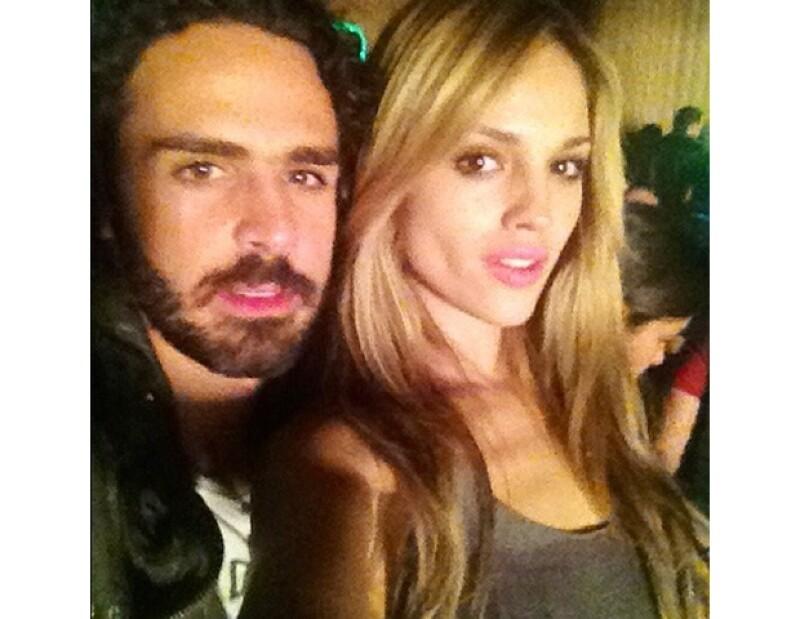 Pepe Díaz cumplió años y su novia los festejó con él.