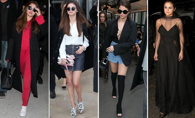 El Paris Fashion Week ha terminado y te mostramos cada uno de los looks con los que deslumbraron estas celebridades.