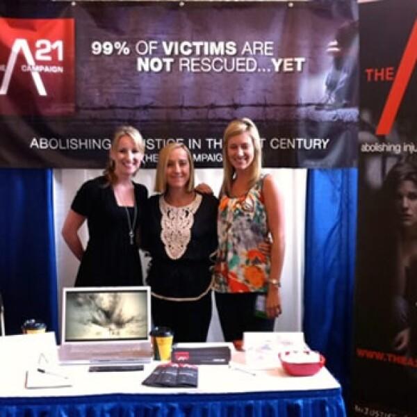 Proyecto libertad - trata de personas - Campaña A21