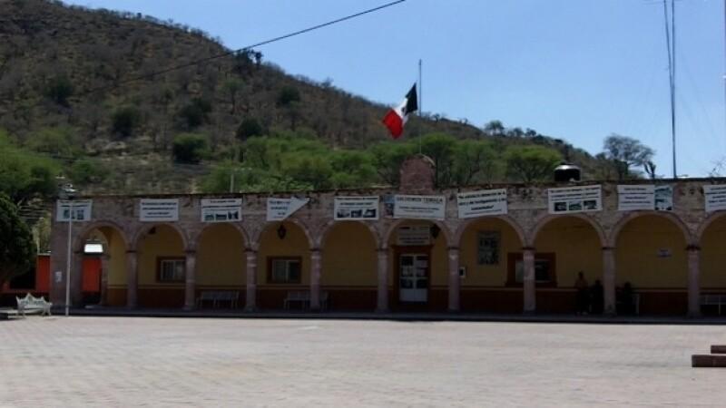 Plaza principal de Temacapulín