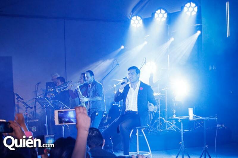 Carlos admite estar listo para su concierto en el Auditorio Nacional.