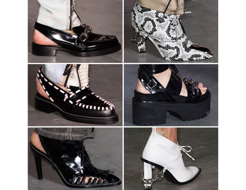 Zapatos de la colección SS16.