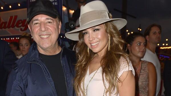 Tommy Mottola y Thalía