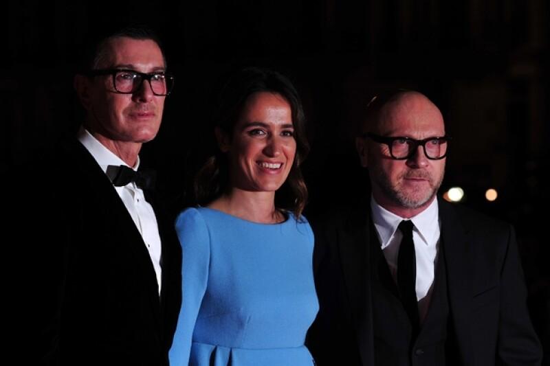 Domenico Dolce y Stefano Gabbana aseguraron que la inglesa hace un gran trabajo pero no tiene nada que ver con diseñadores como John Galliano o Alexander McQueen.