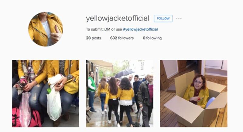 La chamarra se hizo tan famosa que crearon una cuenta de Instagram de ella.