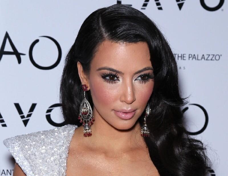 Kim saltó a la fama por su video sexual.