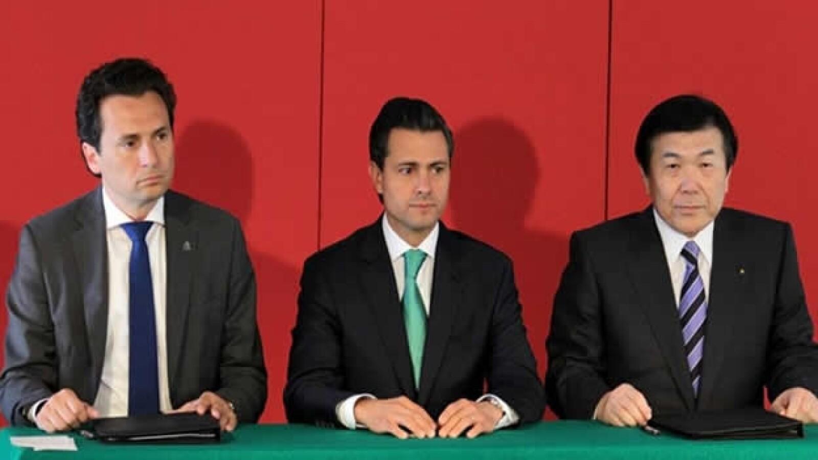 firma de convenio entre pemex y empresa japonesa