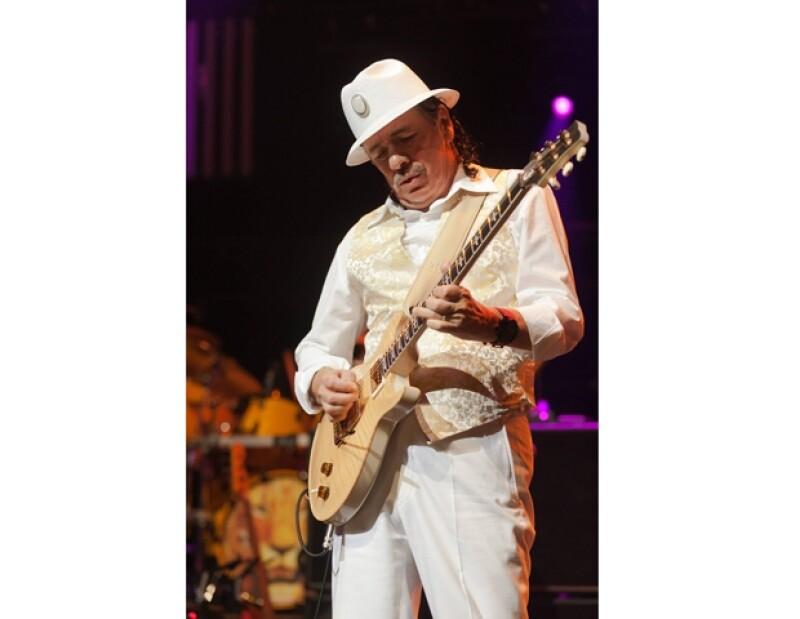 Santana deleitará al público guanajuatense.