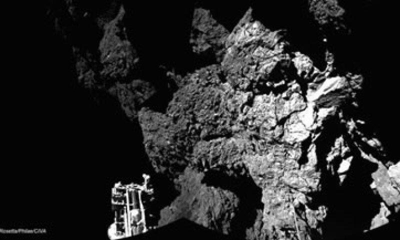 Philae se convirtió en noviembre en la primer sonda en aterrizar en un asteroide (Foto: Twitter/Philae2014)
