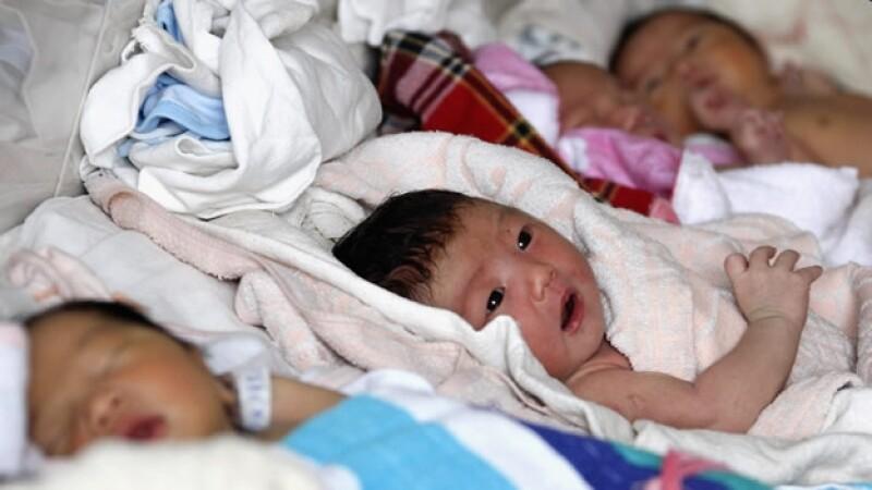 bebés china maternidad
