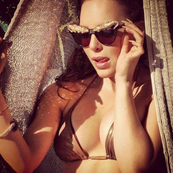 La guapa actriz y cantante se ha distinguido además por su sexy estilo.