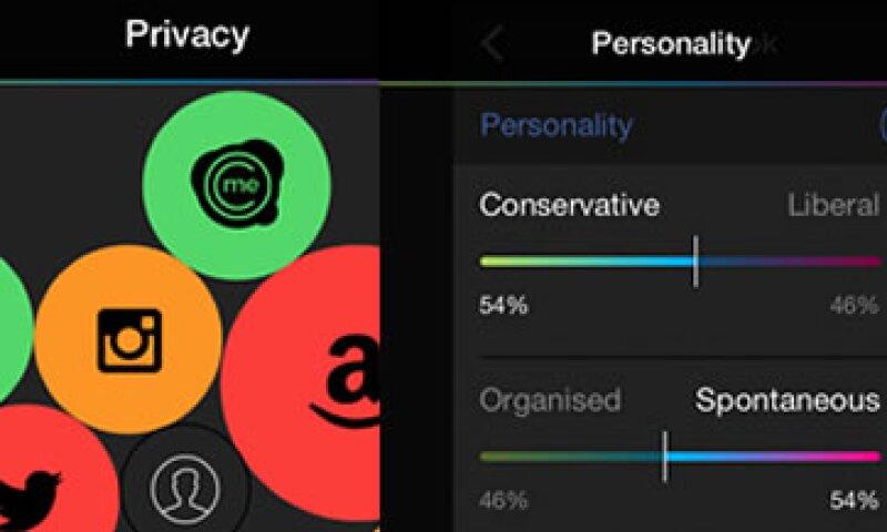 La app permite concentrar todas las políticas de seguridad de redes sociales (Foto: Cortesía Citizenme)