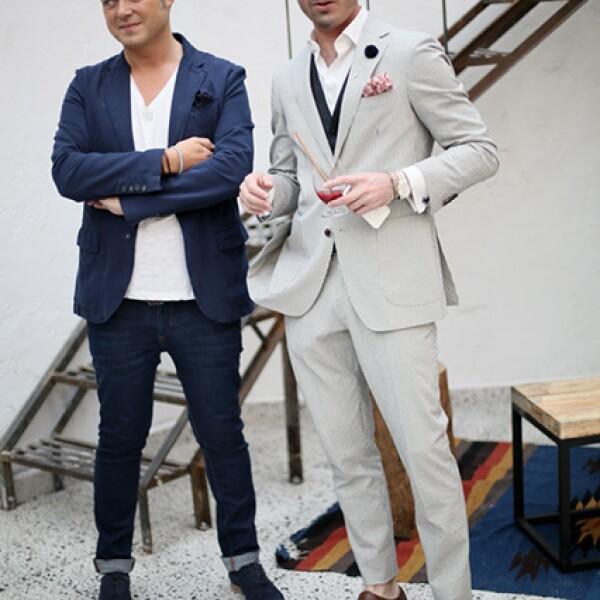 José María Gandarillas y Marc Pallas