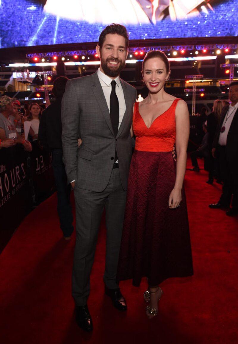 ¡La feliz pareja se convertirá en padres nuevamente! Así lo ha dado a conocer el representante de la actriz británica.
