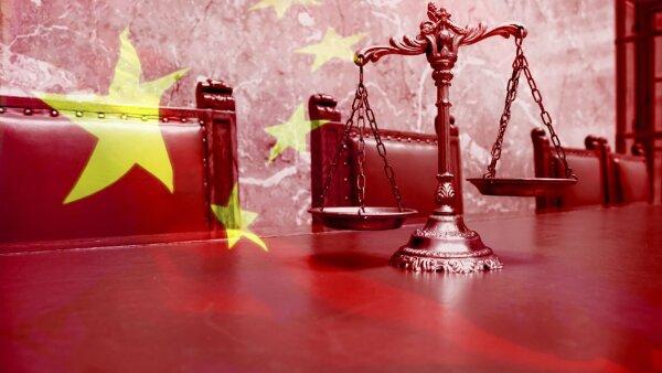 china justicia