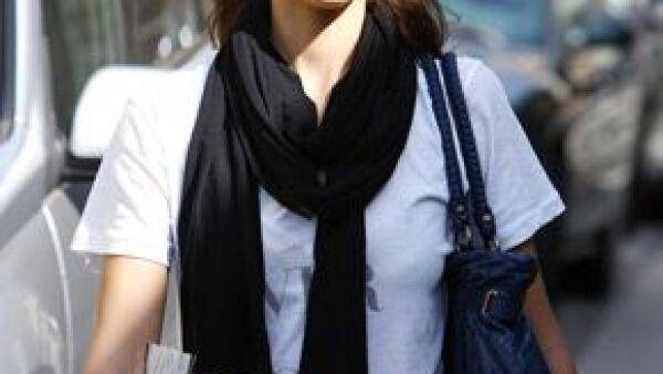 La policía no presentará cargos contra la actriz debido a la colocación de carteles en el centro de Oklahoma City.