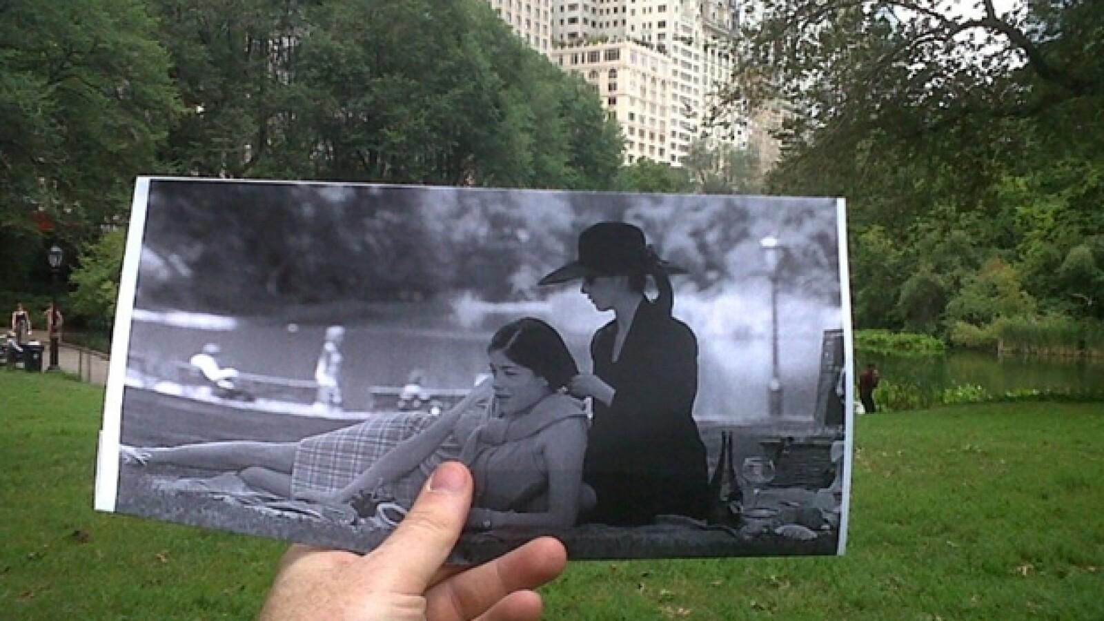 Juegos sexuales, locación, Central Park