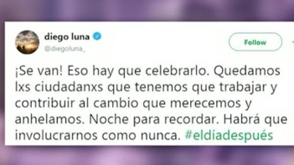 Los famosos reaccionan al triunfo en las urnas de Andrés Manuel López Obrador