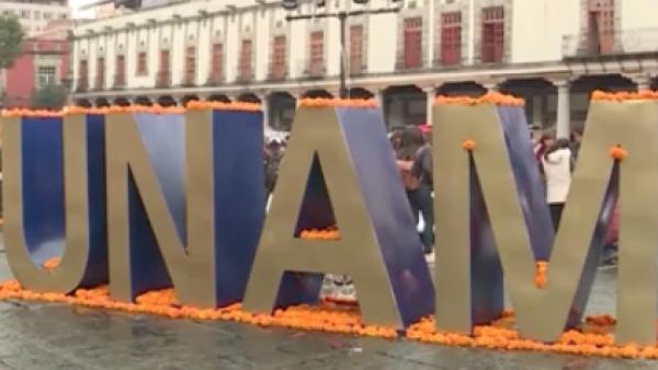 UNAM Altares