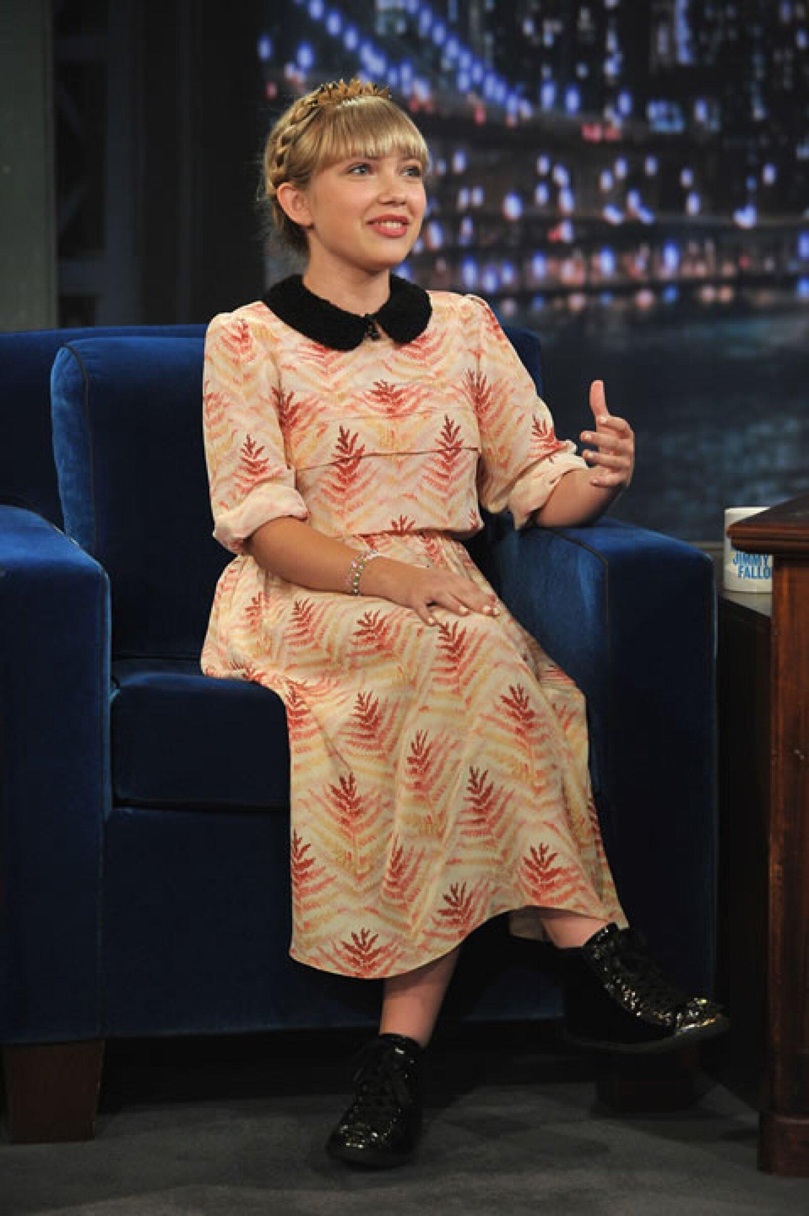 Para 2012 ya había entrevistado a top models como Coco Rocha, pero ese año le tocó ser la entrevistada en el show de Jimmy Fallon.