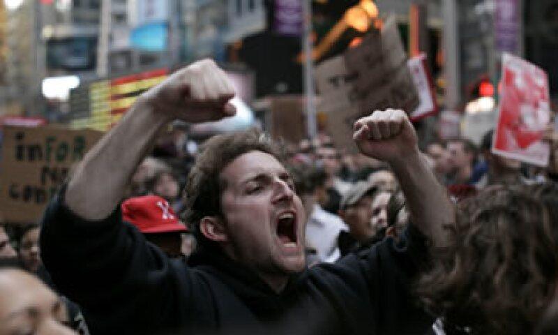 El movimiento creció a varios cientos de miles de personas que se manifestaron en todo el mundo durante el fin de semana. (Foto: Reuters)