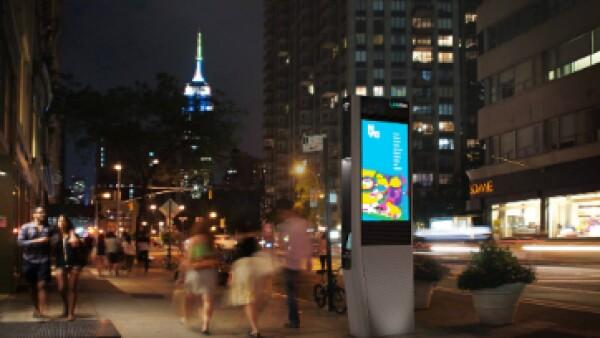 En la ciudad de Nueva York, donde miles de cabinas de teléfono fueron reemplazados por estaciones de Wi-fi público. (Foto: Facebook/LinkNYC )