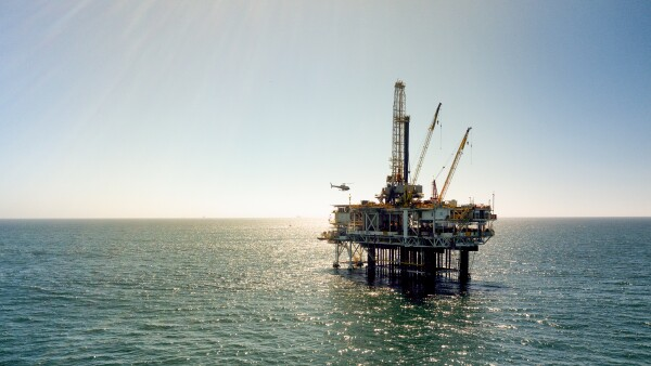 Offshore Fracking Drilling Stills