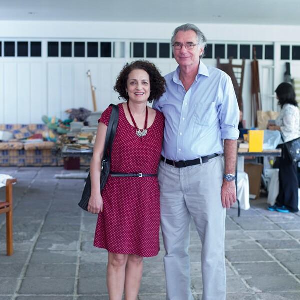 Beatriz Lerdo de Tejada y Michel Trachsel
