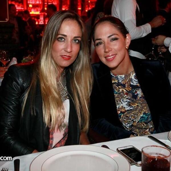 Paula Arango y Ximena Murat