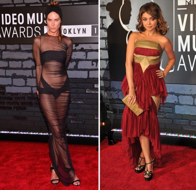 Selena Gomez y Taylor Swift se lucieron mientras que Miley Cyrus y Katy Perry fueron un gran `fail´ de alfombra roja. No te pierdas a los éxitos y fracasos de moda de la noche.