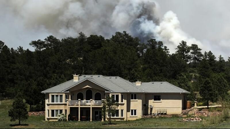 Incendio forestal en Colorado
