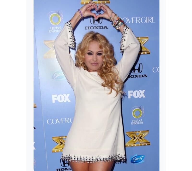 La chica dorada será juez en la tercera temporada de The X factor, lo cual significa para ella una de las mejores oportunidades en su carrera.