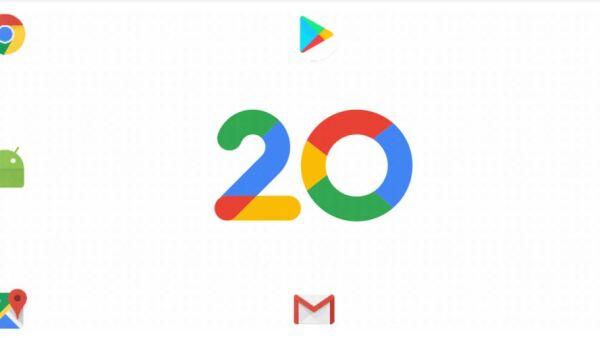Google 20 años