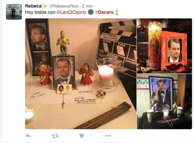 Los usuarios pidiendo por Leo que gane un Oscar.