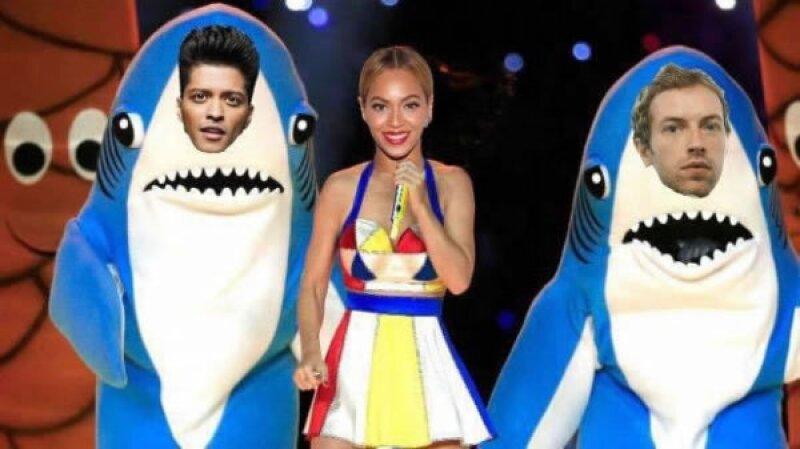 Otro más de los divertidos tiburones que estuvieron en la edición pasada del Super Bowl.