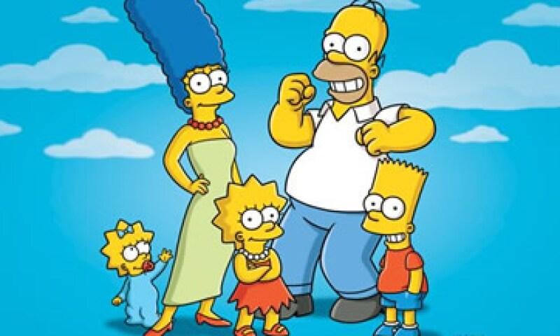 'Los Simpsons' es la comedia que lleva más tiempo en el aire en Estados Unidos y está en su temporada número 23. (Foto: AP)
