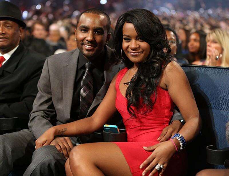 Bobbi estuvo presente en un evento de los Grammy, dedicado a su mamá Whitney Houston, con Nick Gordon.