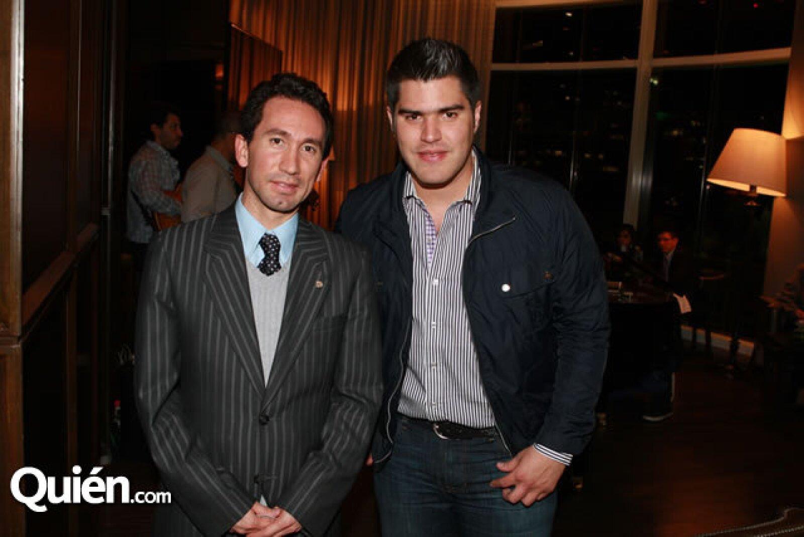 Alain Rochi y Aldo Barba