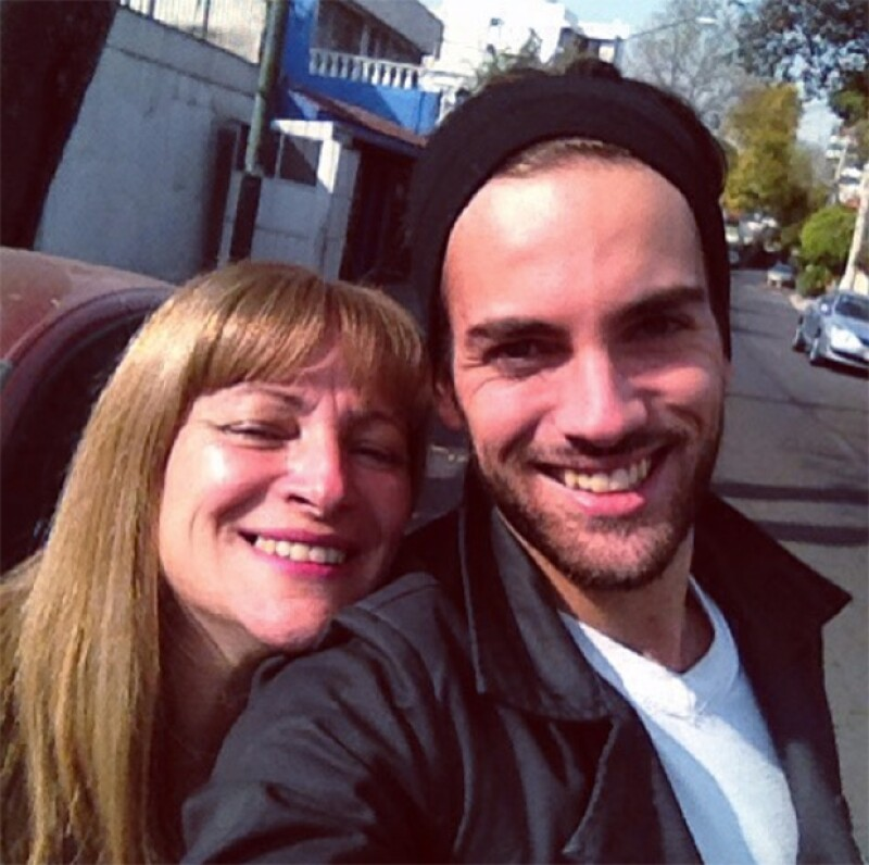 De acuerdo con Ventaneando, la mamá de actor vino a México por el cuerpo del joven que murió a los 21 años.