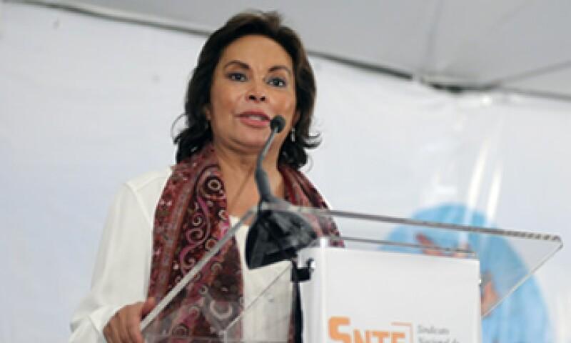 Gordillo fue trasladada desde el penal de Santa Martha Acatitla para la audiencia de declaración preparatoria.  (Foto: Notimex)