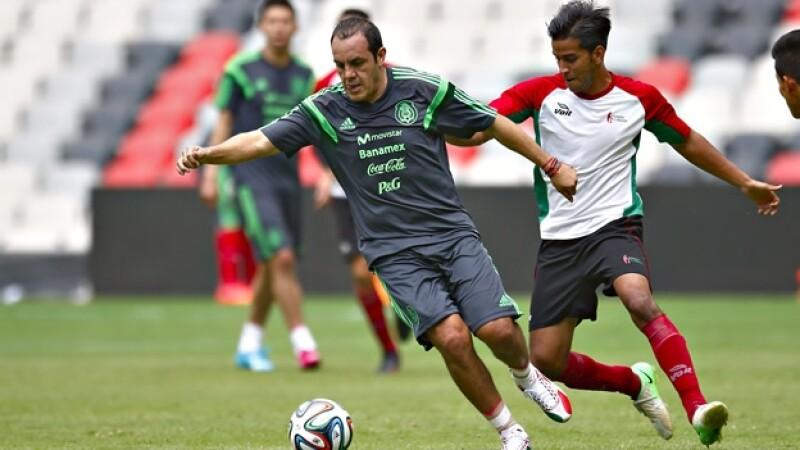 Cuauhtémoc Blanco será titular en el partido homenaje que se le realizará en el estadio Azteca
