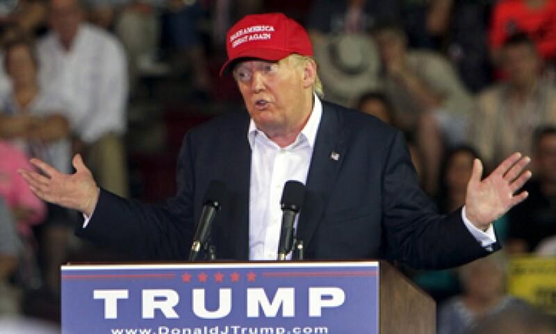Donald Trump volvió a recurrir a las redes sociales para criticar a la presentadora.  (Foto: Reuters)