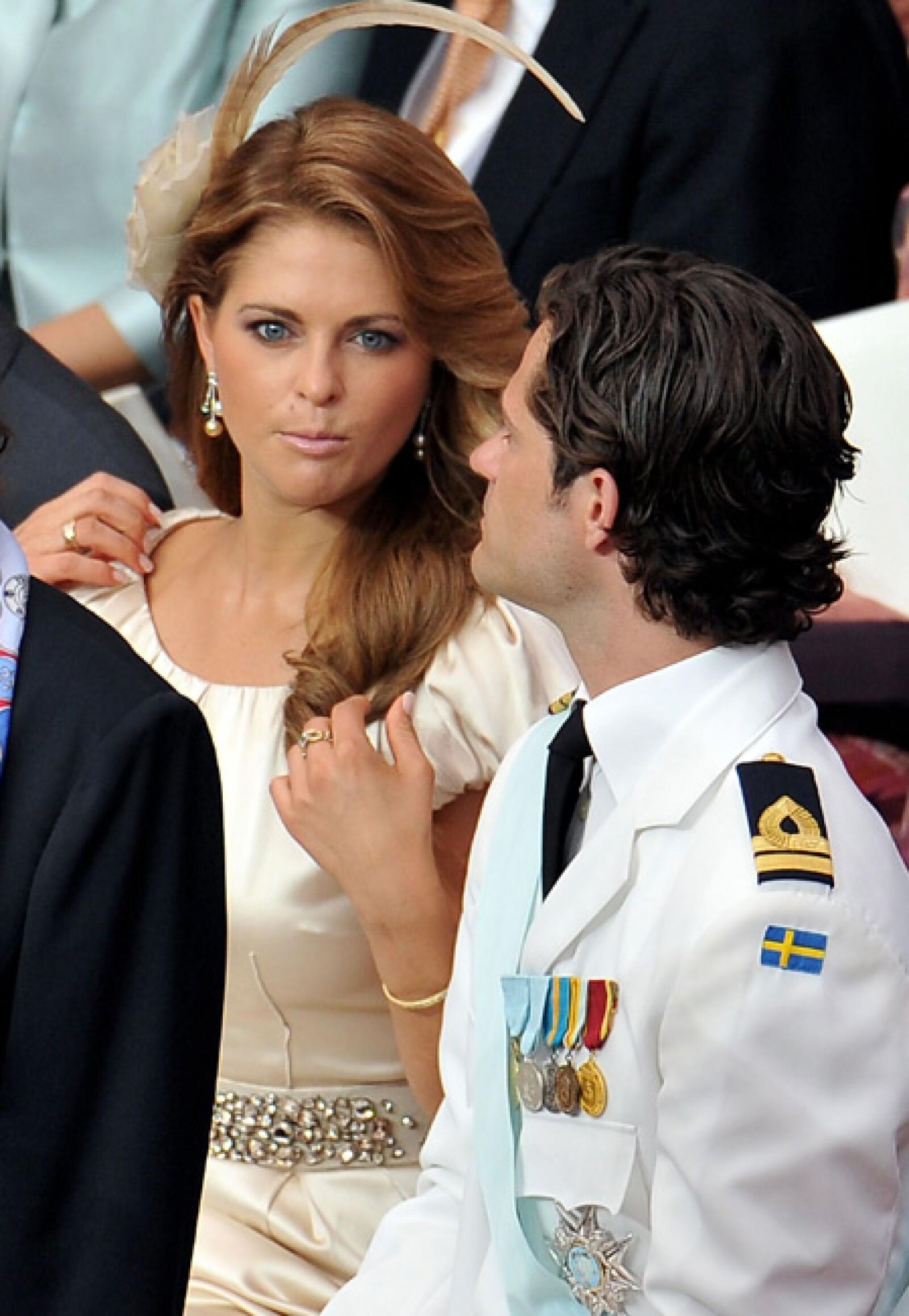 La princesa Madeleine de Suecia.