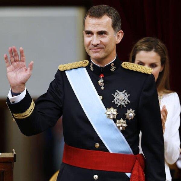 Felipe VI dio su primer discurso como rey en el Congreso de los Diputados.